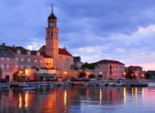 Isola-di-Brac-Croazia-Sutivan-notte
